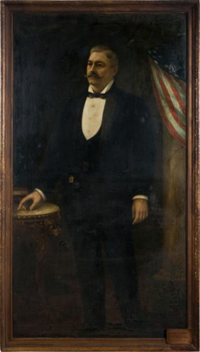 Circa 1910 John L. Sullivan Massive Original Pai