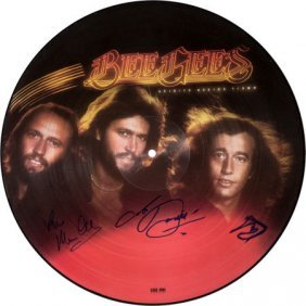 Bee Gees Signed Spirits Having Flown Picture Dis