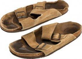 A Steve Jobs Pair Of Birkenstock Sandals, Circa