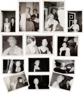 A Marilyn Monroe Group Of Rare Black And White S