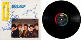 Duran Duran Signed Lp (1981). Signed On The Fron