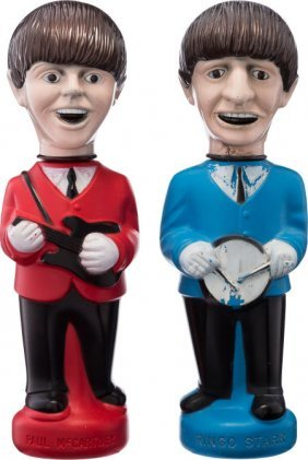 Beatles - Paul And Ringo Bubble Bath Dolls By Co