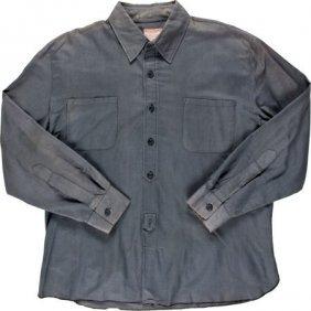 """A John Wayne Shirt From """"the Cowboys."""" Warner Br"""