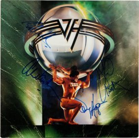 Van Halen Signed 5150 Lp (warner Bros. 25394, 19