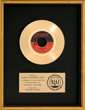 """Abba """"dancing Queen"""" Riaa Gold Record Award (atl"""