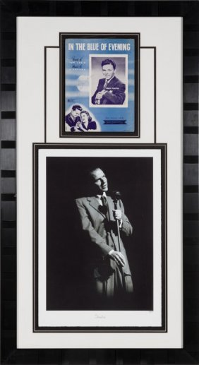 A Frank Sinatra Signed Sheet Music Cover, Circa