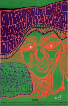 Grateful Dead/ The Doors/ Junior Wells Fillmore