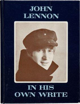 Beatles: John Lennon Signed In His Own Write Boo