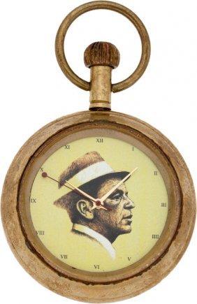 A Frank Sinatra-related Pocket Watch, Circa 1960