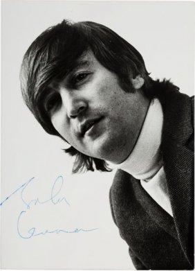 John Lennon Signed Photo (germany, 1966). A 5.75