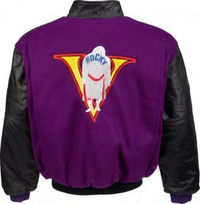 """A Rare Crew Jacket Related To """"rocky V."""" Metro-g"""
