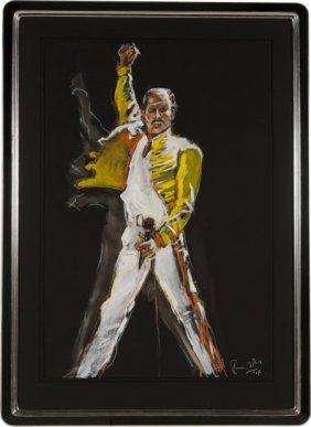 Rolling Stones - Ronnie Wood Painting Of Freddie