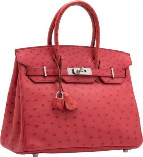 chinese replica handbags - hermes birkin cm rubis tote bag red