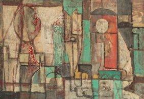 William Baziotes (1912-1963) The Boudoir, 1944 O