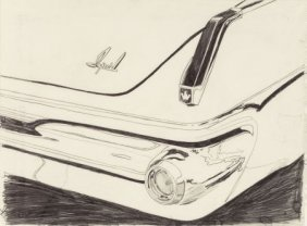 Andy Warhol (1928-1987) Untitled (imperial Car D