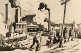 Thomas Hart Benton (american, 1889-1975) The Arm