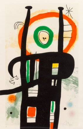 Joan Miró (1893-1983) Le Grand Ordinateur, 1969