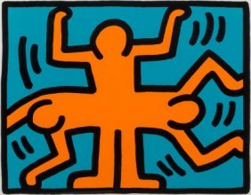 Keith Haring (1958-1990) Untitled, From The Pop