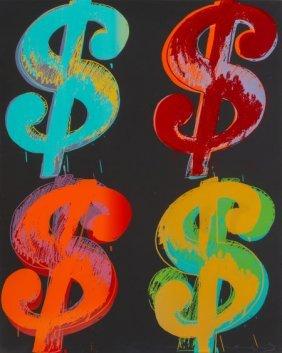Andy Warhol (american, 1928-1987) $ (quadrant),