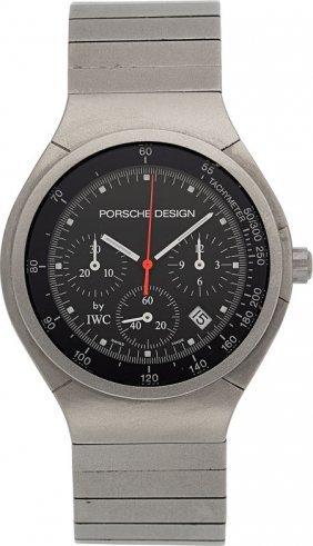 Porsche Design By Iwc Titanium Chronograph Wrist