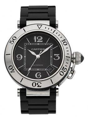 Cartier Pasha Seatimer Automatic Wristwatch Ref.