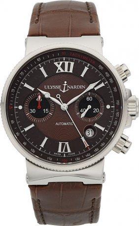 Ulysse Nardin Marine Chronograph Wristwatch Ref.
