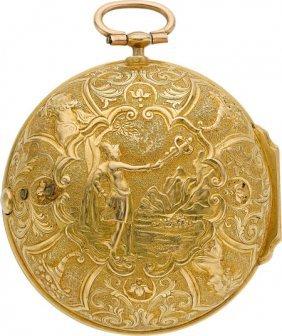 Pierre Prevost Very Fine & Unique Gold Repousse
