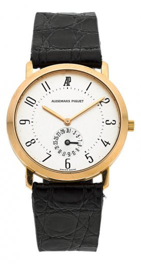 Audemars Piguet Rose Gold Watch With Subsidiary