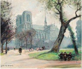 Jules René Hervé (french, 1887-1981) The Path