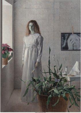 Kent Bellows (american, 1949-2005) Rachel In Whi