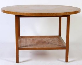 Paul McCobb Walnut Table, American, 20th C.