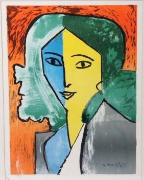 After Henri Matisse, Woman, Lithograph