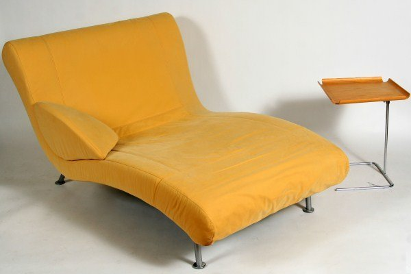 Contemporary ligne roset chaise lounge lot 45 - Chaise rocher ligne roset ...