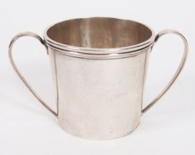 S. Kirk & Sons Co. Sterling Two Handled Cup