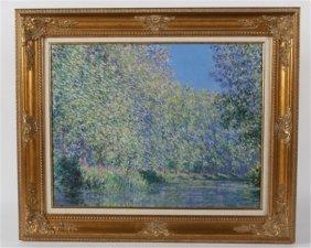Reproduction Print After Claude Monet