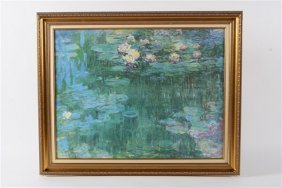 Reproduction Print After Claude Monet