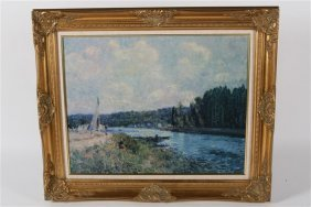 Reproduction Print After Alfred Sisley
