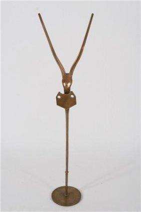 "Morris Brose (b. 1914) ""gazelle"""