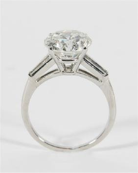 Ladies 4.44 Ct. Diamond Engagement Ring