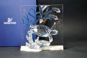 Signed Swarovski Crystal Plaque 'eternity'