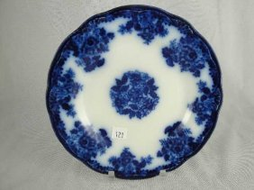 FLOW BLUE PLATE - WALDORF