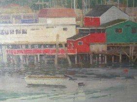 KANG CHO - COLO. ARTIST - MONTEREY BAY CALIF