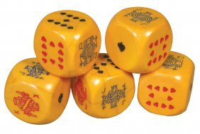 Very Large Set Of Bakelite Poker Dice