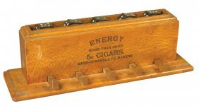 Spinning Dice Game Advertising Energy Cigars