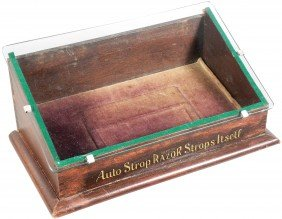 Auto Strop Razor Store Display Case