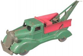 Pressed Steel Toy Tow Truck