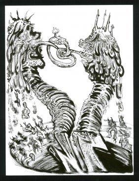 Matt Bua, Drawing