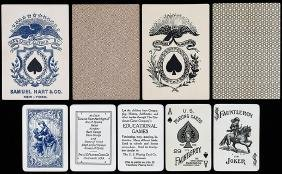 Three Packs Of Playing Cards.