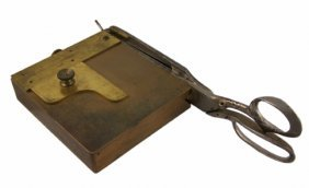 Card Trimmer.  Will & Finck Ca. 1900.