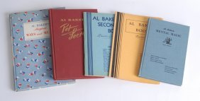 Al Baker's Collection Of Five Volumes, Three Signed.